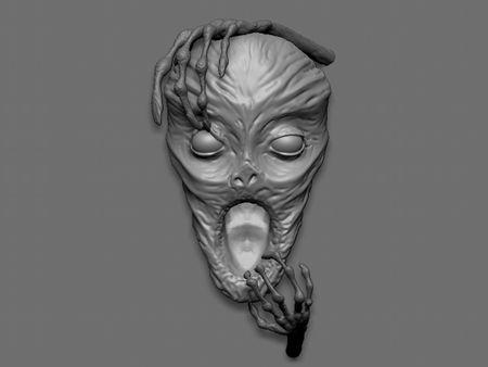 Speed Sculpted Mummy Head