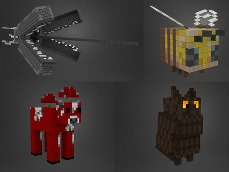 Minecraft render studies