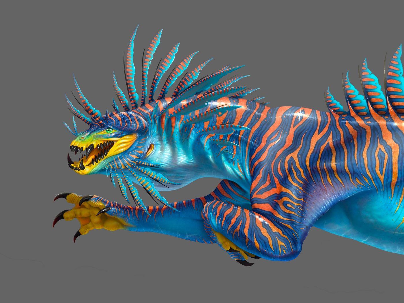 Sabreosk: A Creature Concept