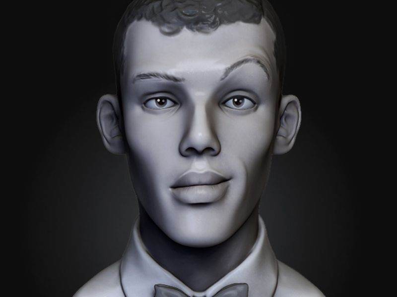 Stromae || Head sculpt
