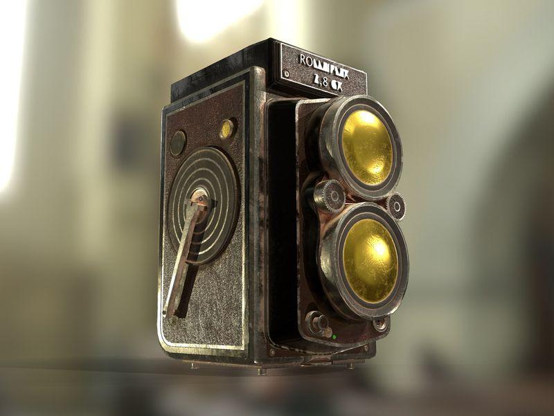 RollieFlex Camera