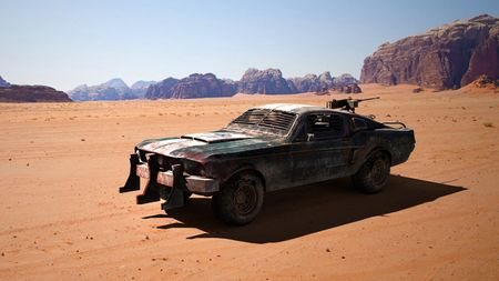 Ford mustang Mad Max version
