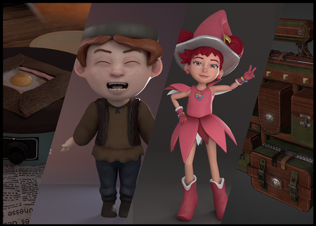 3D Characters and other works