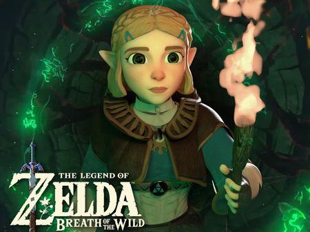 Zelda from Breath of the wild - Fan Art