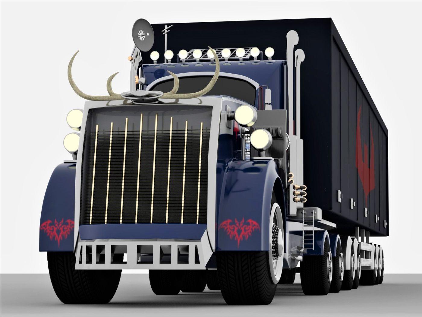 A very big truck!