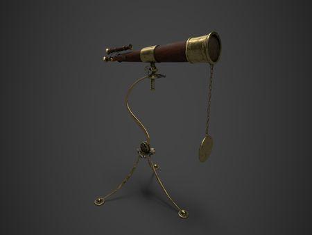 Old fantasy telescope