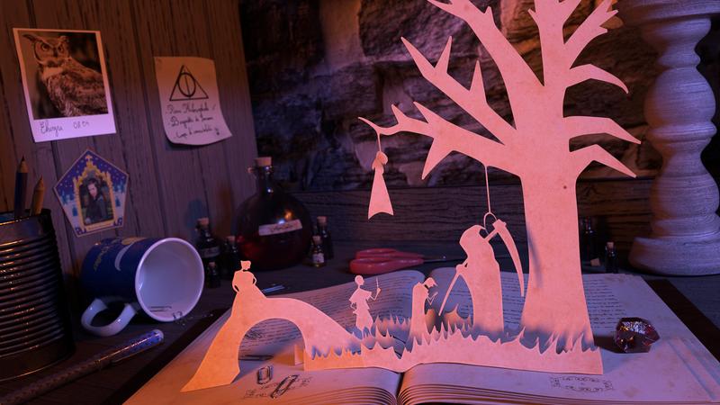 Ravenclaw Student's Desk