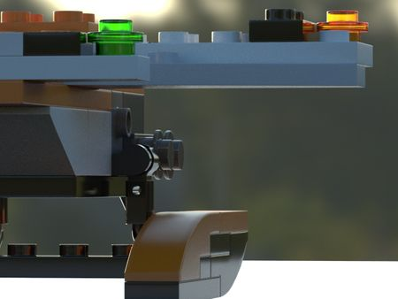 Lego Plane 3D Modeling