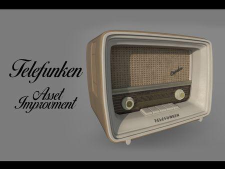 Improvment of Old Asset - Radio Telefunken
