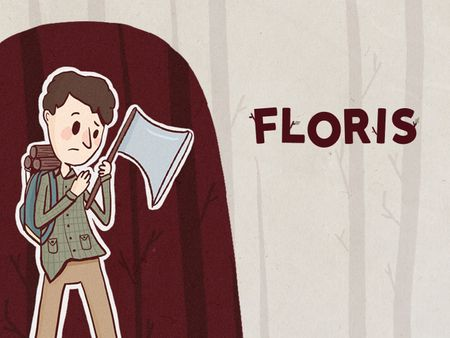 FLORIS - 2D Character Design