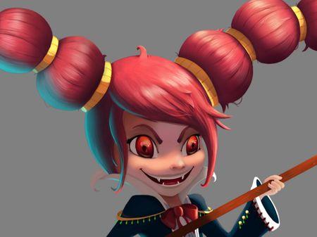Project Chara_Vampire 2D