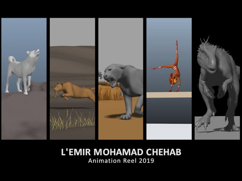 L'Emir Mohamad Chehab Animation Reel 2019