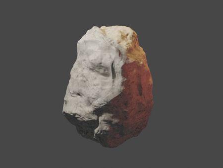 Andesite 3D Sculpture