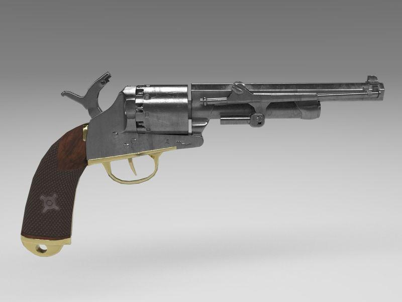 LeMat Grapeshot Revolver
