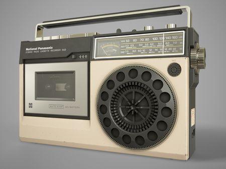 National Panasonic RQ-543ADS Radio