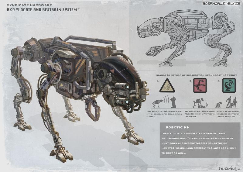 K9 hard surface design