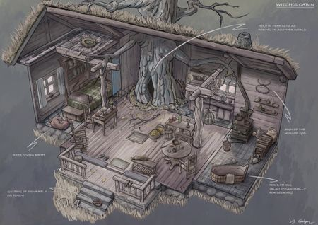 Witch's cabin
