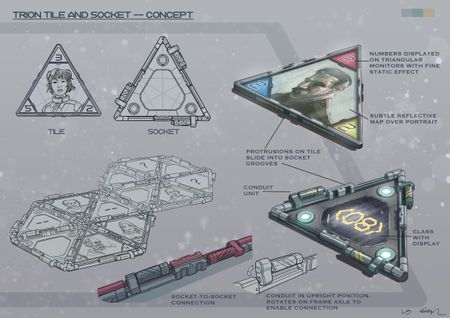 Tile and socket concept