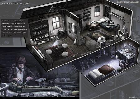 Kemal's house