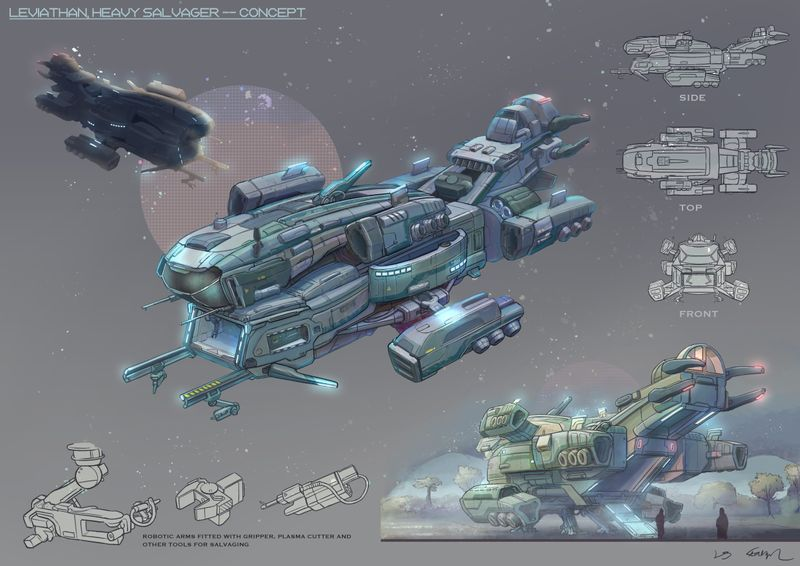 Salvager Spaceship
