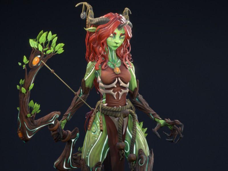 Mielikki, The Forest Spirit