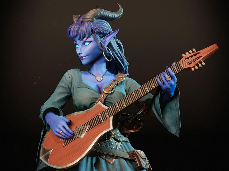 Lelliana The Bard