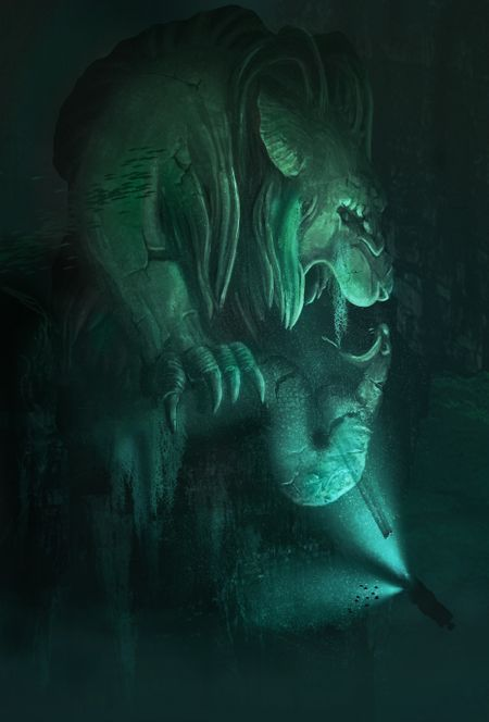 """""""Deep, dark secret"""" - Concept Art"""