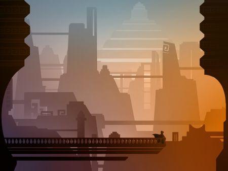 """Temple of the Rising Sun"" - Flat Design"
