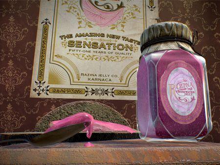 RAZINA Rosewater Jelly - Dishonored 2 asset (fanmade)
