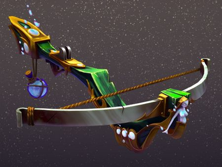 """Crossbow of the Mermaid Huntress"" - 3D weapon"