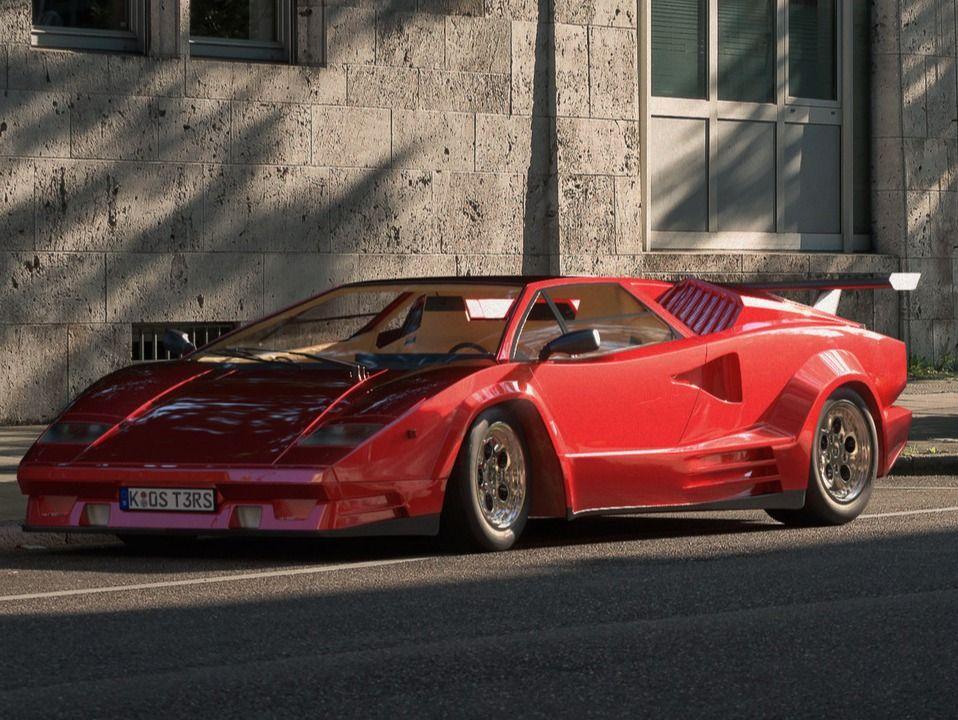 Lamborghini 1989 Countach 25th Anniversary Edition The Rookies