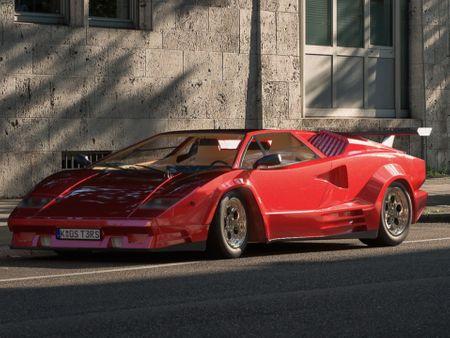 Lamborghini 1989 Countach 25th Anniversary Edition