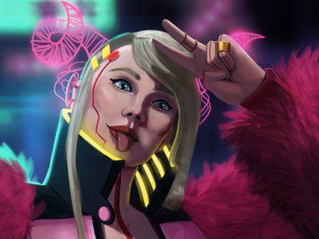 Cyberpunk Bouh