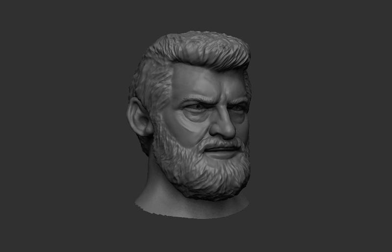 Old Logan Sculpt