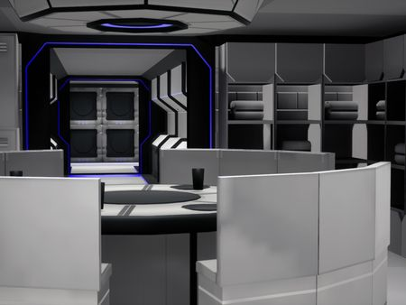 Modular Science Fiction Environment