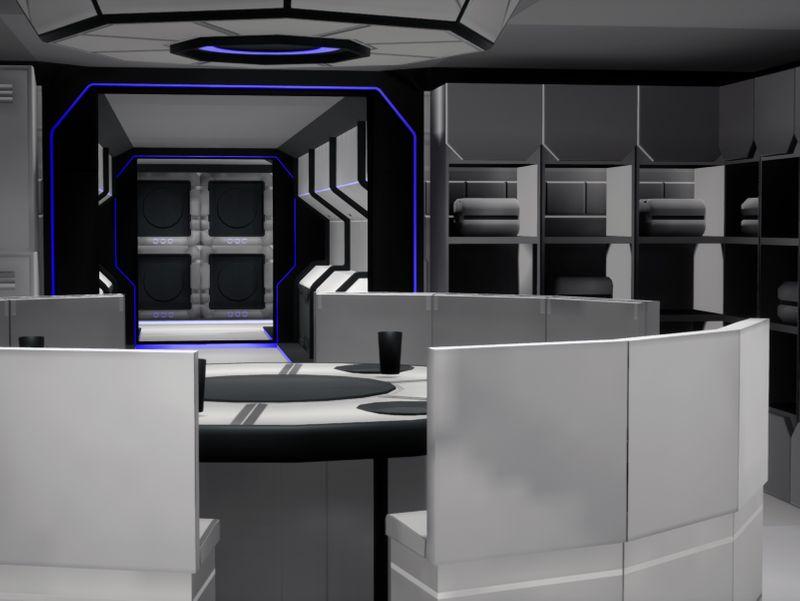 Modular Science Fiction Environment