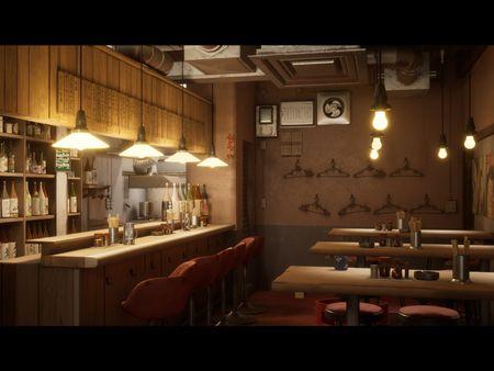 Japanese Bar Enviroment