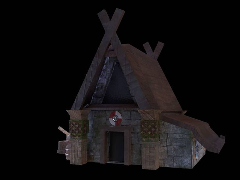 Small viking village