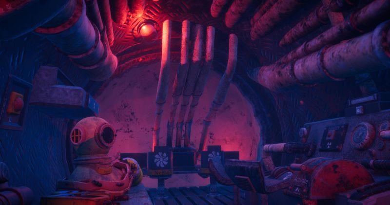 3D Submarine nautilus