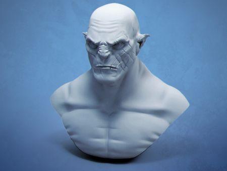 Sculpt Azog Fanart