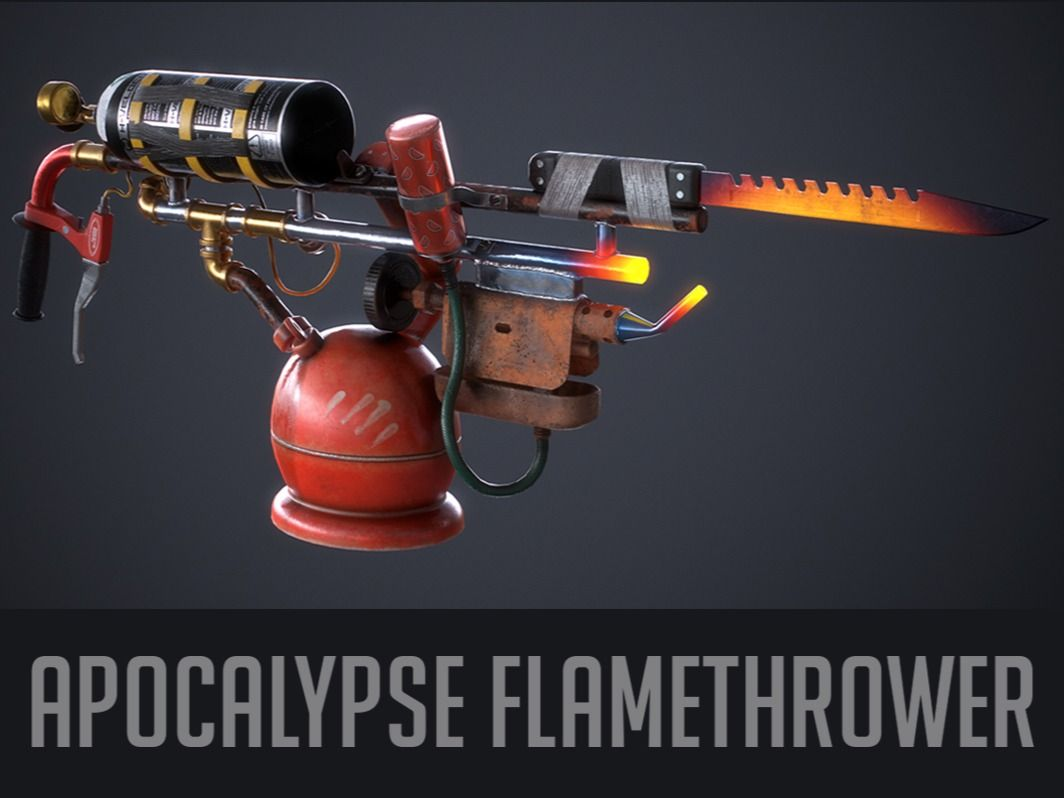 Apocalypse Flamethrower