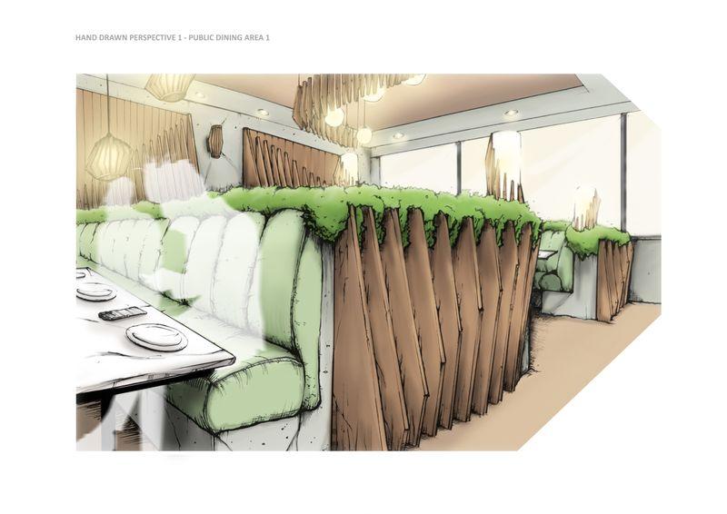 Conceptual Restaurant Design