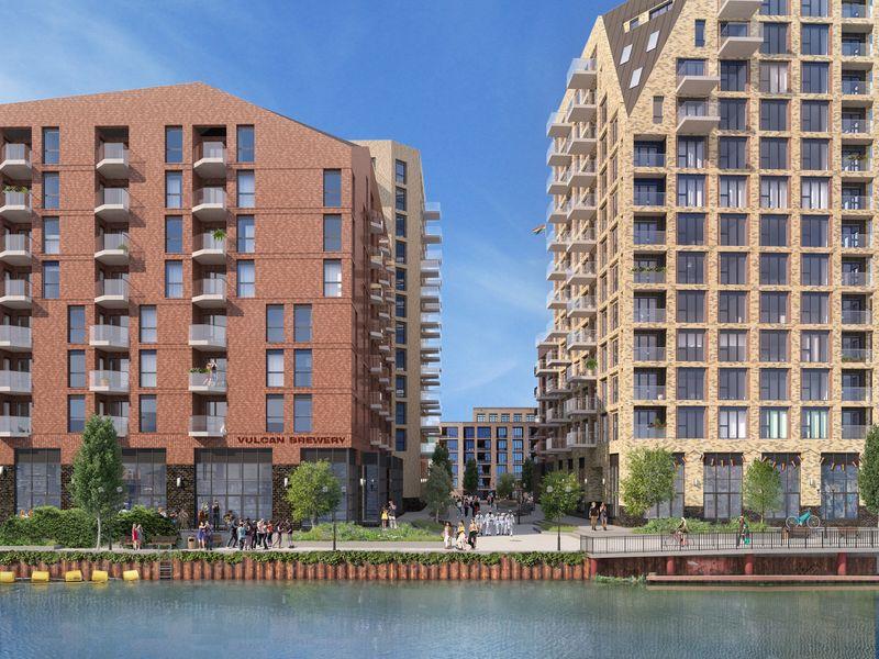 Vulcan Wharf, East London