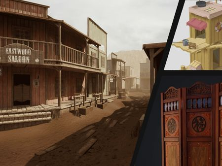 Wild West Environment + other projects