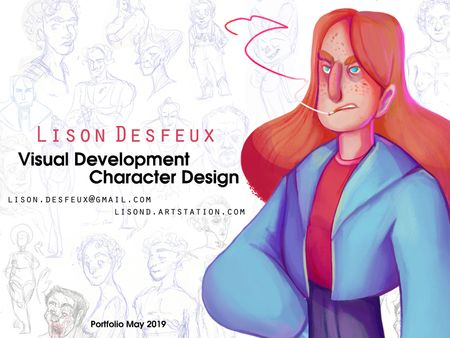 VisDev and Character Design Portfolio