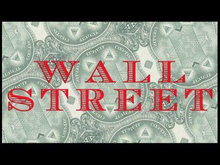 """Wall Street"" title design"