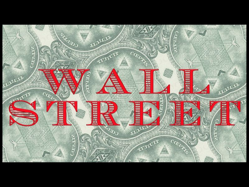 """Wall Street"" title design"