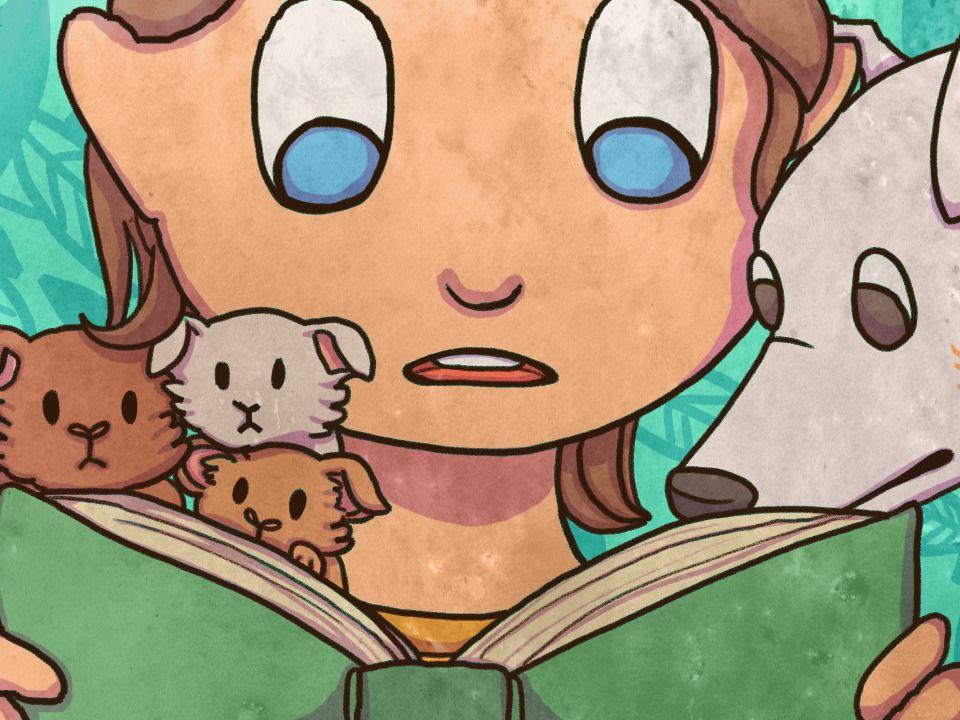 """Words I've Learned in 2020"" - 2D animation short"