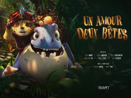 Un Amour Deux Bêtes / One Love Two Beasts  - CGI Animated Short Film 2018