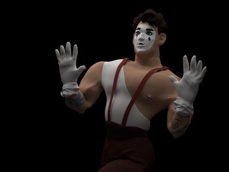 Circus de Arkana: Muscles the Mime